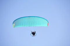 Powered paragliding Royalty Free Stock Photos