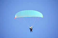 Powered paragliding Stock Photos