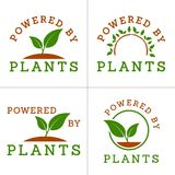 Powered by plants Royalty Free Stock Image