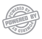 Powered By rubber stamp Royalty Free Stock Photo