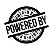 Powered By rubber stamp Royalty Free Stock Photos