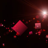 Powerful abstract square design Royalty Free Stock Images