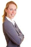Powerful businesswoman Stock Image