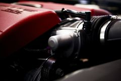 Powerful Car Engine Stock Images