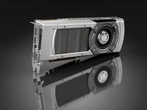 Powerful computer graphic card Royalty Free Stock Images