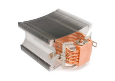 Powerful CPU cooler Royalty Free Stock Photo