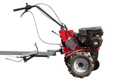 Powerful cultivator Royalty Free Stock Photo
