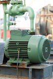 Powerful electric motors for modern industrial equipment Stock Photos