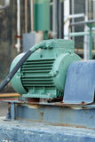 Powerful electric motors for modern industrial equipment Royalty Free Stock Images