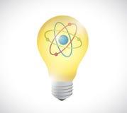 Powerful energy illustration design Stock Photography