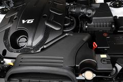 Powerful engine Stock Photography