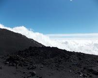Powerful Etna, Sicily royalty free stock image