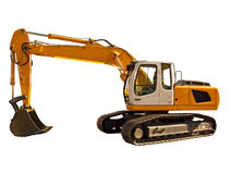Powerful excavator Stock Photo