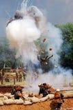 Powerful explosion. Royalty Free Stock Photos