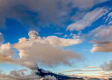 Powerful Explosion Of Tungurahua Volcano Royalty Free Stock Images