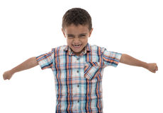 Powerful Fierce Boy Stock Photos