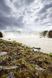 Powerful Godafoss Falls, Iceland Royalty Free Stock Images