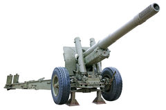 Powerful howitzer Royalty Free Stock Photography