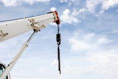 Powerful industrial crane Stock Photos