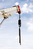 Powerful industrial crane Royalty Free Stock Photography