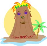 Powerful Kahuna Tiki Stock Photo