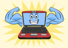 Powerful laptop. Stock Photography