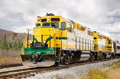 Powerful Locomotive Royalty Free Stock Images