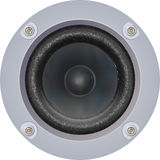 Powerful Loudspeaker (Vector). Photo-realistic illustration of a Loudspeaker isolated on white Stock Photo