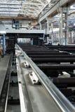 Powerful metalworking machine Royalty Free Stock Photography