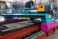 Powerful metalworking machine Stock Photography