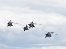 Powerful Mi-28 Stock Photo