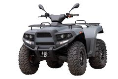 Powerful modern ATV Royalty Free Stock Photography