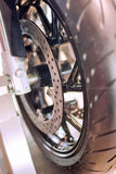 Powerful Motorbike Disc Brake Stock Photography