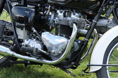 Powerful Motorcycle. Royalty Free Stock Photography