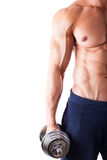 Powerful muscular man Stock Images