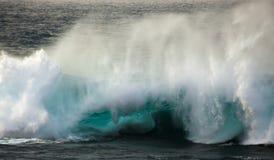 Powerful ocean wave breaking Royalty Free Stock Image