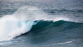 Powerful ocean wave breaking Royalty Free Stock Photo