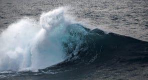 Powerful ocean wave breaking Stock Image