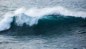 Powerful ocean wave breaking Stock Photo