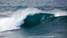 Powerful ocean wave breaking Stock Photography