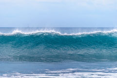 Powerful ocean waves Royalty Free Stock Photo
