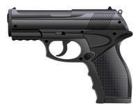 Powerful pistol, gun, handgun, vector illustration. Powerful pistol, gun, handgun, vector illustration royalty free illustration