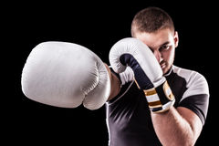 Powerful punch Stock Photos