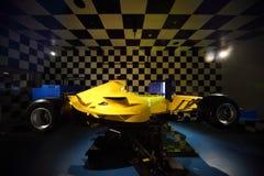 Powerful racing car in Costa Deliziosa Stock Photos
