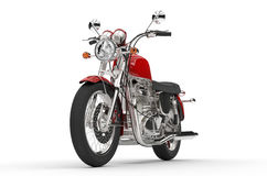 Powerful Red Bike Royalty Free Stock Images