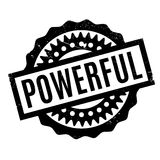 Powerful rubber stamp Stock Photos