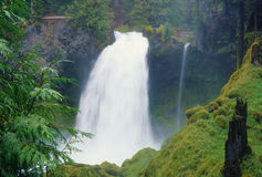 Powerful Sahalie Falls Royalty Free Stock Photos