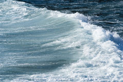 Powerful sea waves Stock Image