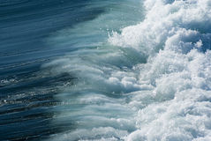 Powerful sea waves Stock Photo