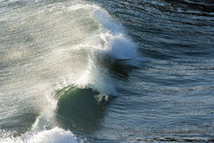 Powerful sea waves Royalty Free Stock Images